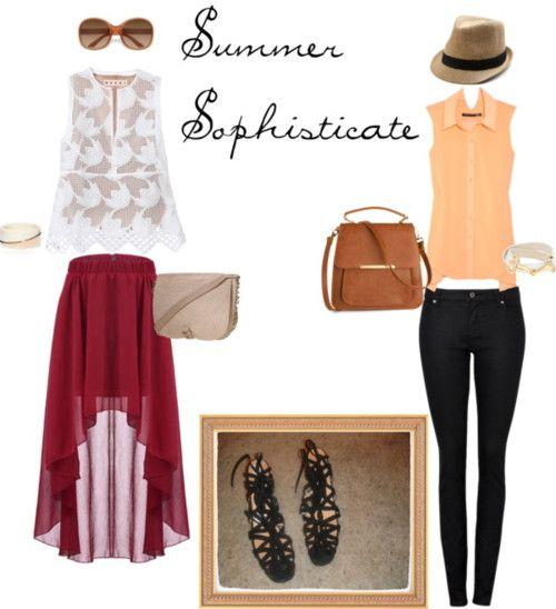 summer sophistication - chiffon flow and strappy sandals