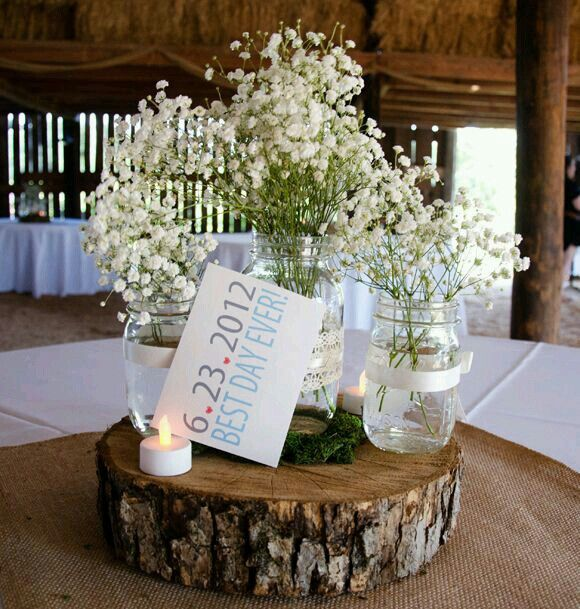 Wedding Flowers By Annette: Pin By Annette Umpierre On Mason Jars *