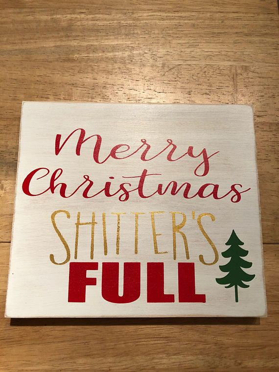 Merry Christmas shitters full Products Christmas, Merry