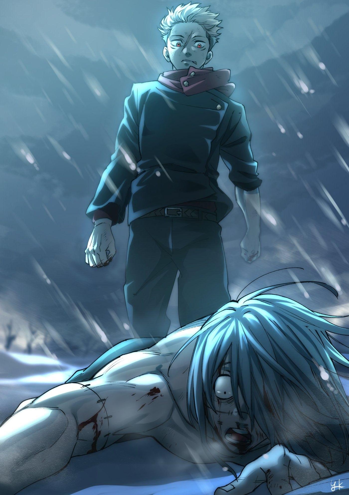 Save Follow Itadori Yuji Vs Mahito Jujutsu Kaisen In 2021 Jujutsu Bleach Anime Netflix Anime