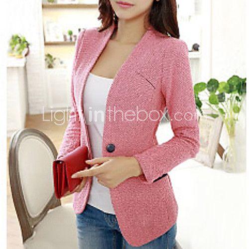 Blazer mujer color rosa