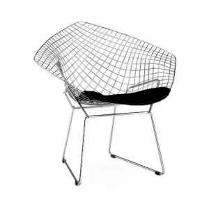 Wire Chair Diamond Drahtstuhl Bertoia Modern Furniture Toronto Bertoia Diamond Chair