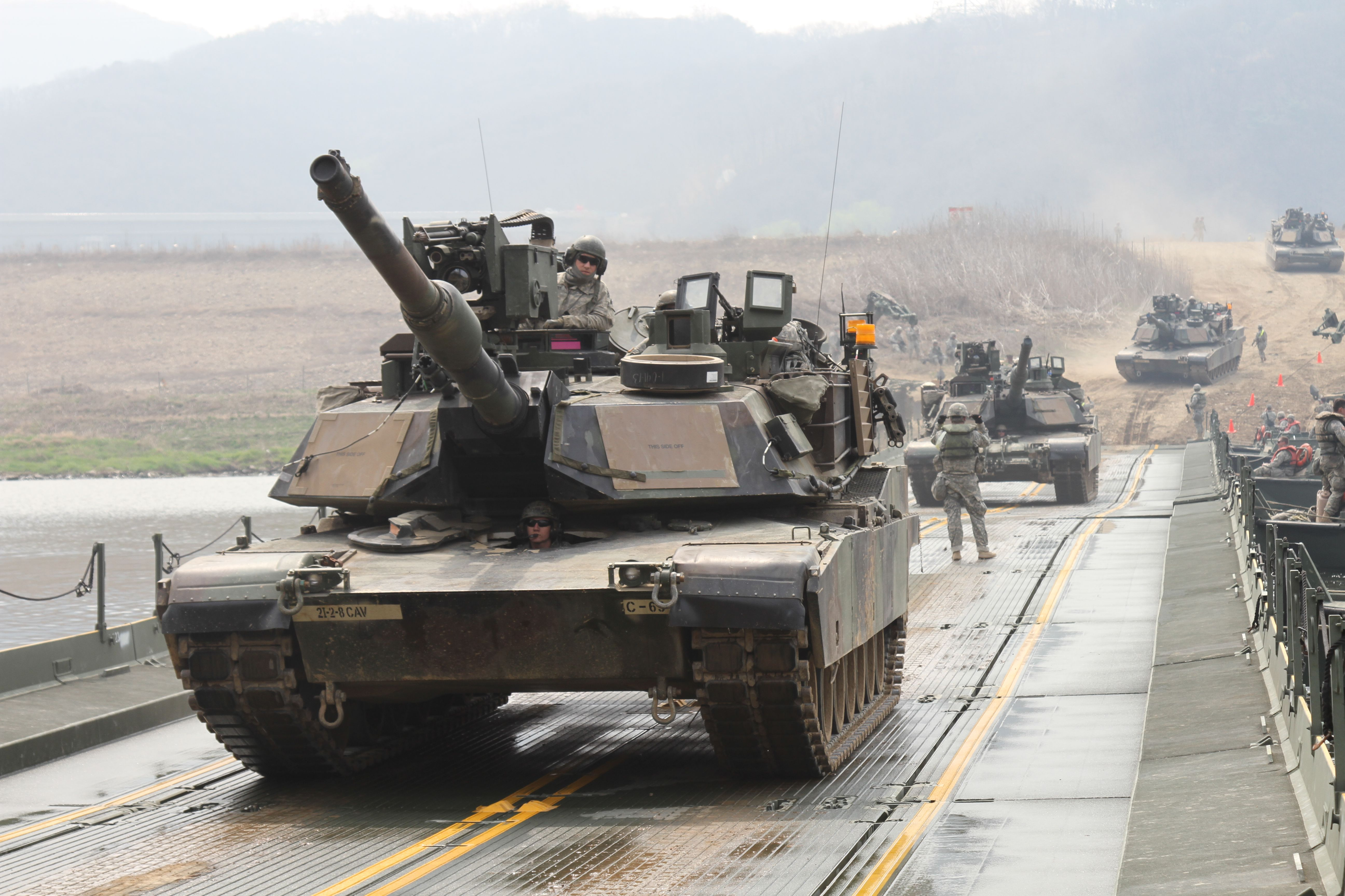 3596cbee3427 US Army M1A2 Abrams MBTs in South Korea  5184 x 3456