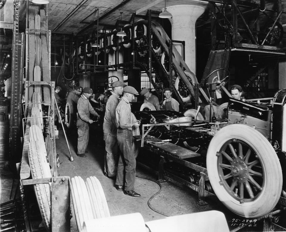 Henry Ford Was The First To Use An Assembly Line For The Mass