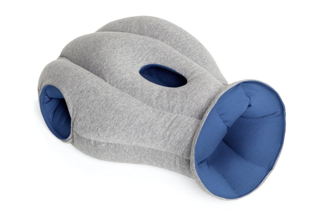 Ostrich Pillow Creates A Mobile Mini Sleeping Environment