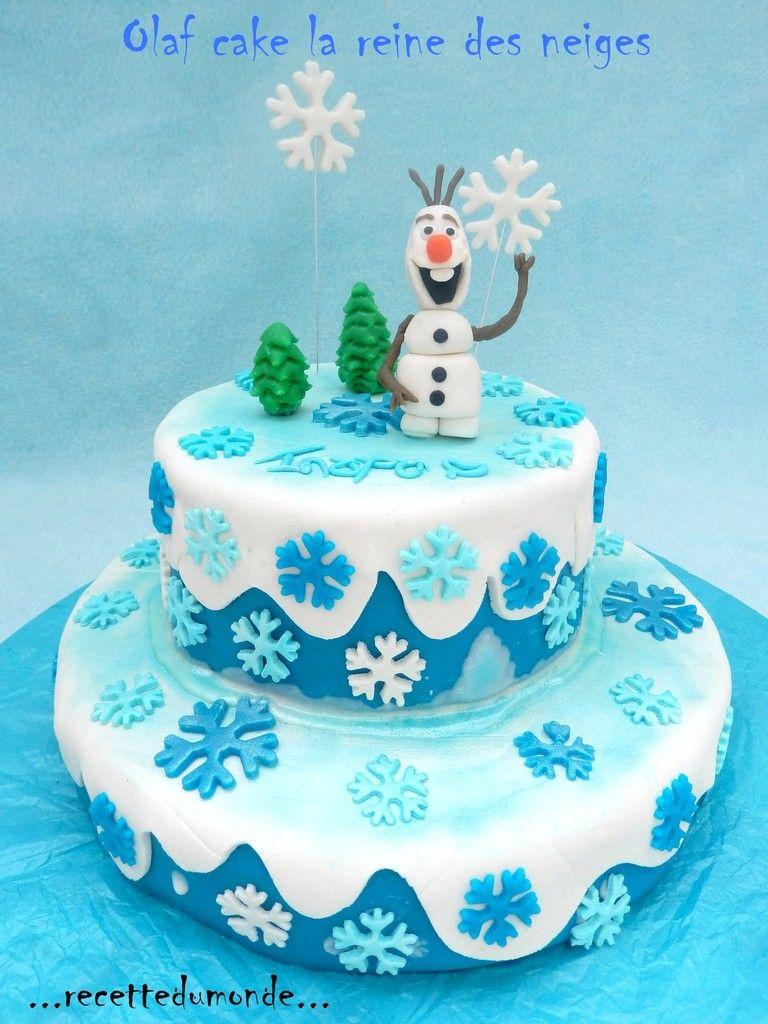 olaf cake g teau 3d la reine des neiges frozen cake anniversaires des filles pinterest. Black Bedroom Furniture Sets. Home Design Ideas