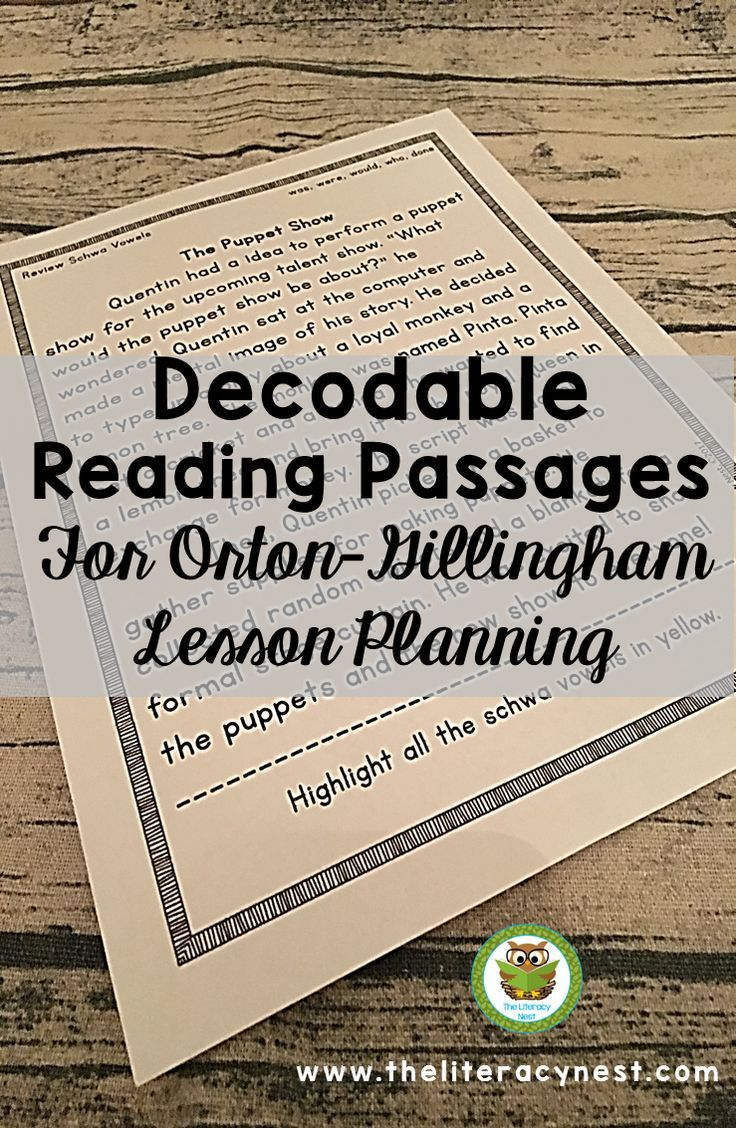 Would you like a FREE set of decodable reading passages to use with ...