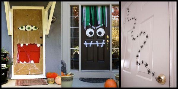 Te compartimos ideas súper sencillas para decorar la puerta de tu