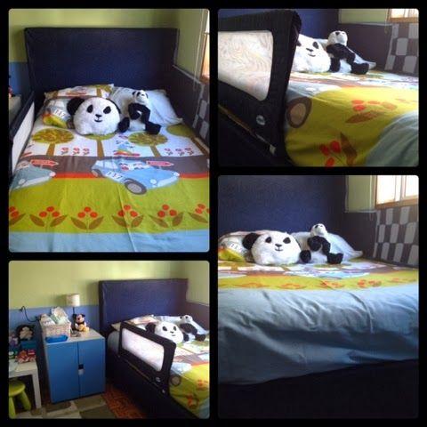 Cabeceira cama.  http://pontoj.blogspot.pt/2013/10/o-quarto-do-joao.html