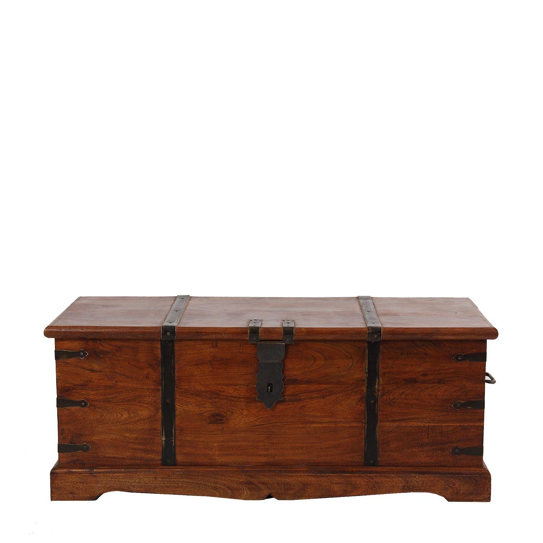 Muebles para el Hogar: Mueble Colonial | BAUL RECTANGULAR DE MADERA ...
