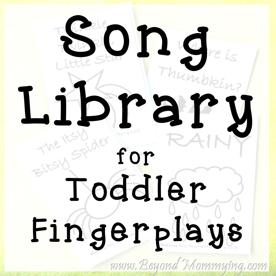 Songs To Sing With Toddlers