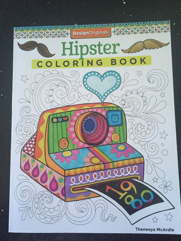 Hipster Coloring Book Thaneeya Mcardie Design Originals Adult