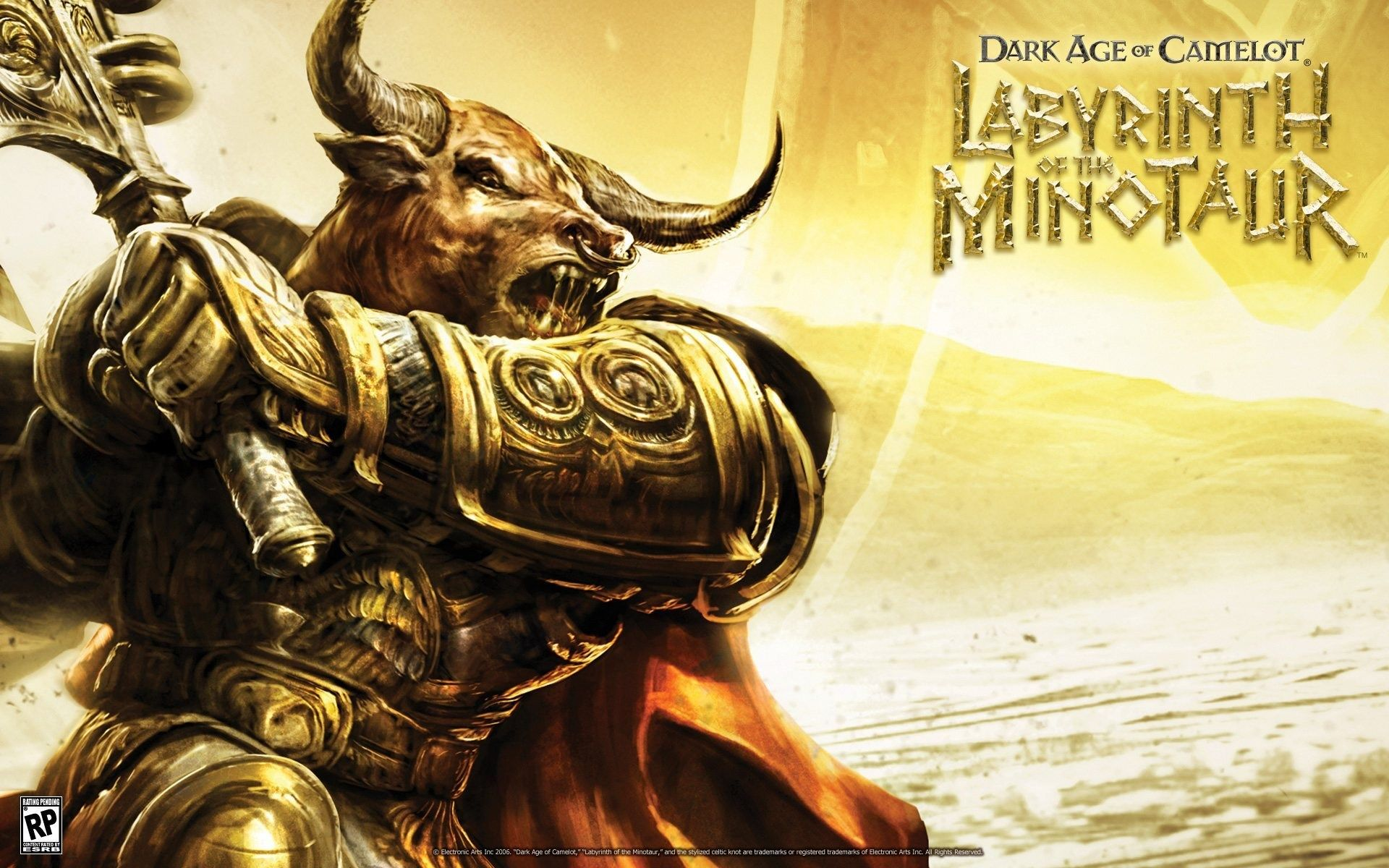 Dark Age Of Camelot Desktop Dark Ages The Minotaur Lion Sculpture