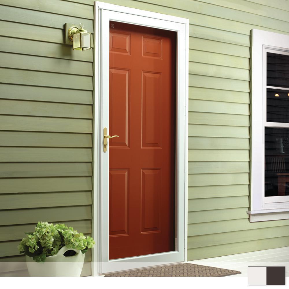 Andersen 2000 Series Full View Interchangeable Aluminum Storm Door