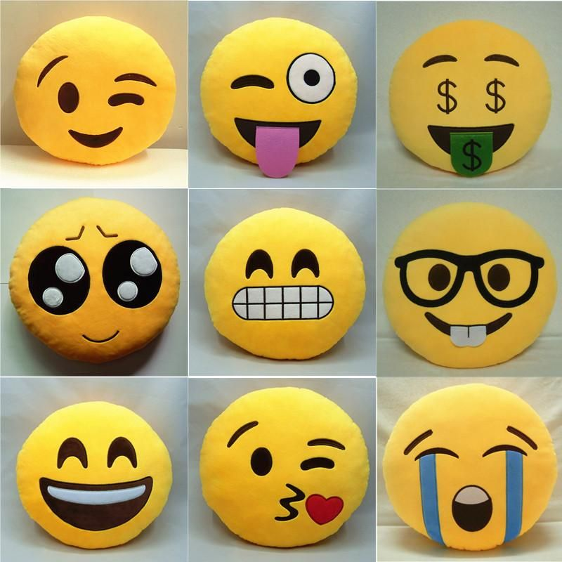 Snuggle Up To Emoji Pillow Match Your Mood With Emoji Pillow Of Your Choice These Cotton Filled Plush Pillows Emoji Pillows Emoji Pillows Plush Plush Pillows
