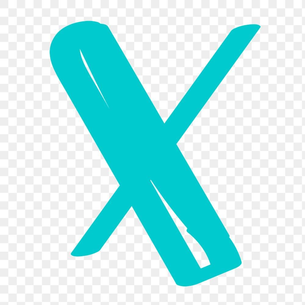 Letter X Png Doodle Typography Free Image By Rawpixel Com Aum Typography Doodles Lettering