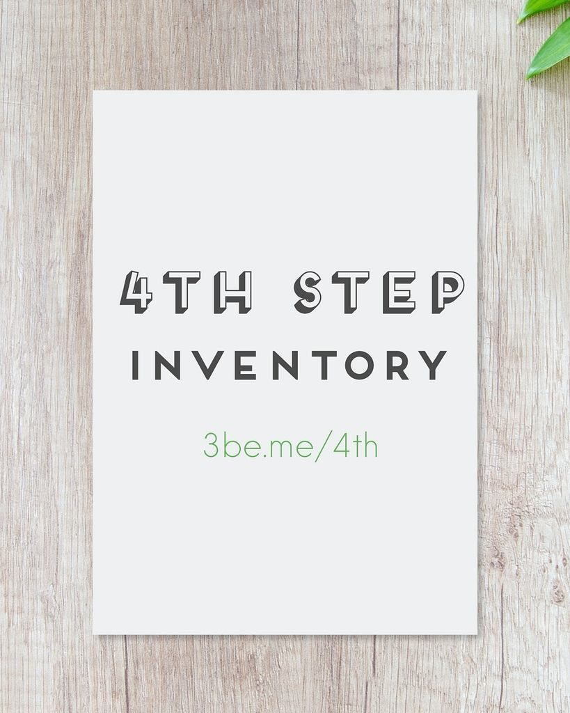 Great guide for working your 4th step along with worksheets and examples!  https://buff.ly/2mkBTk7