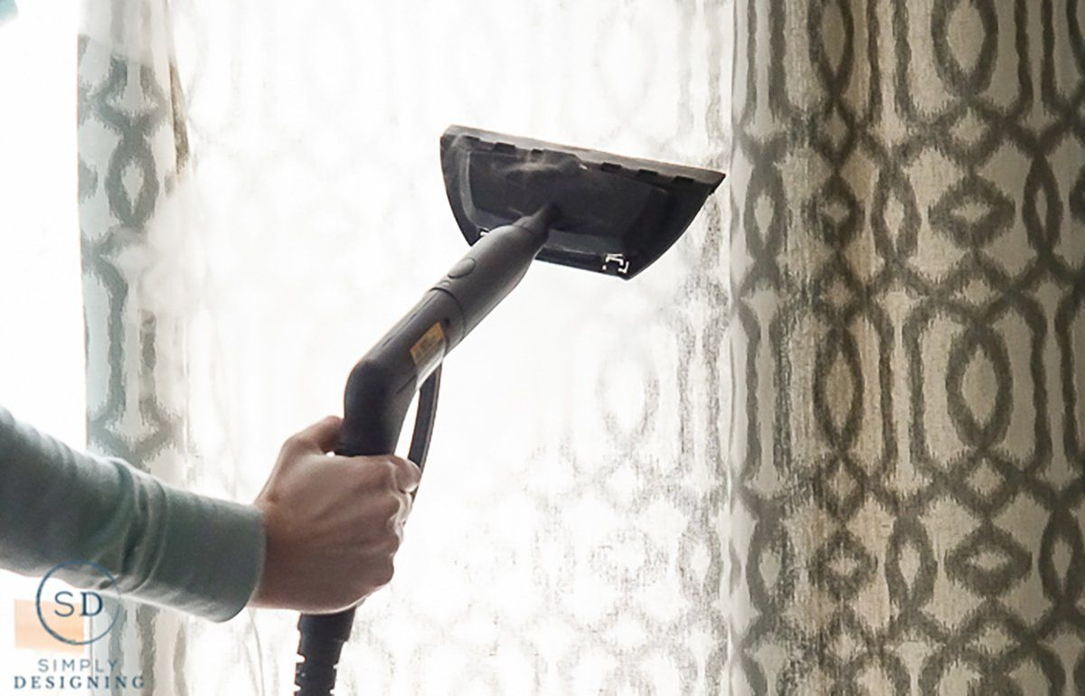How To Remove Wrinkles From Curtains Using Chemical Free Steam In