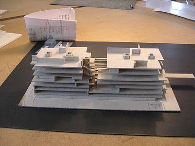 Copenhagen 2011: Studio - Project 1: Utrecht University library models