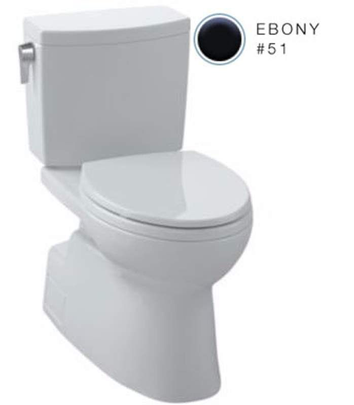 View the Toto CST474CUF Vespin II 1 GPF Two Piece Elongated Toilet - less Seat at FaucetDirect.com.