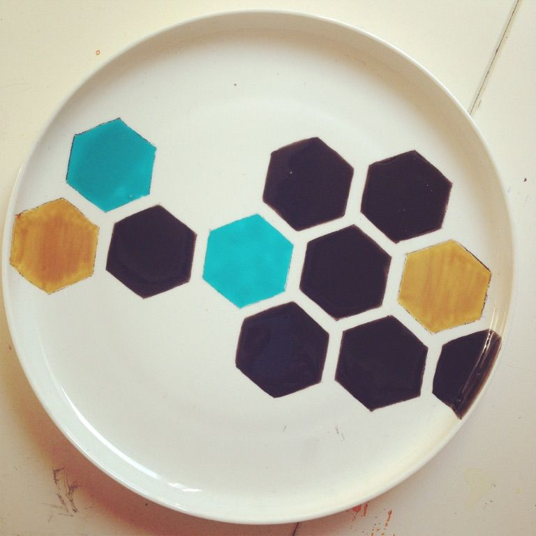 Servies #hexagon