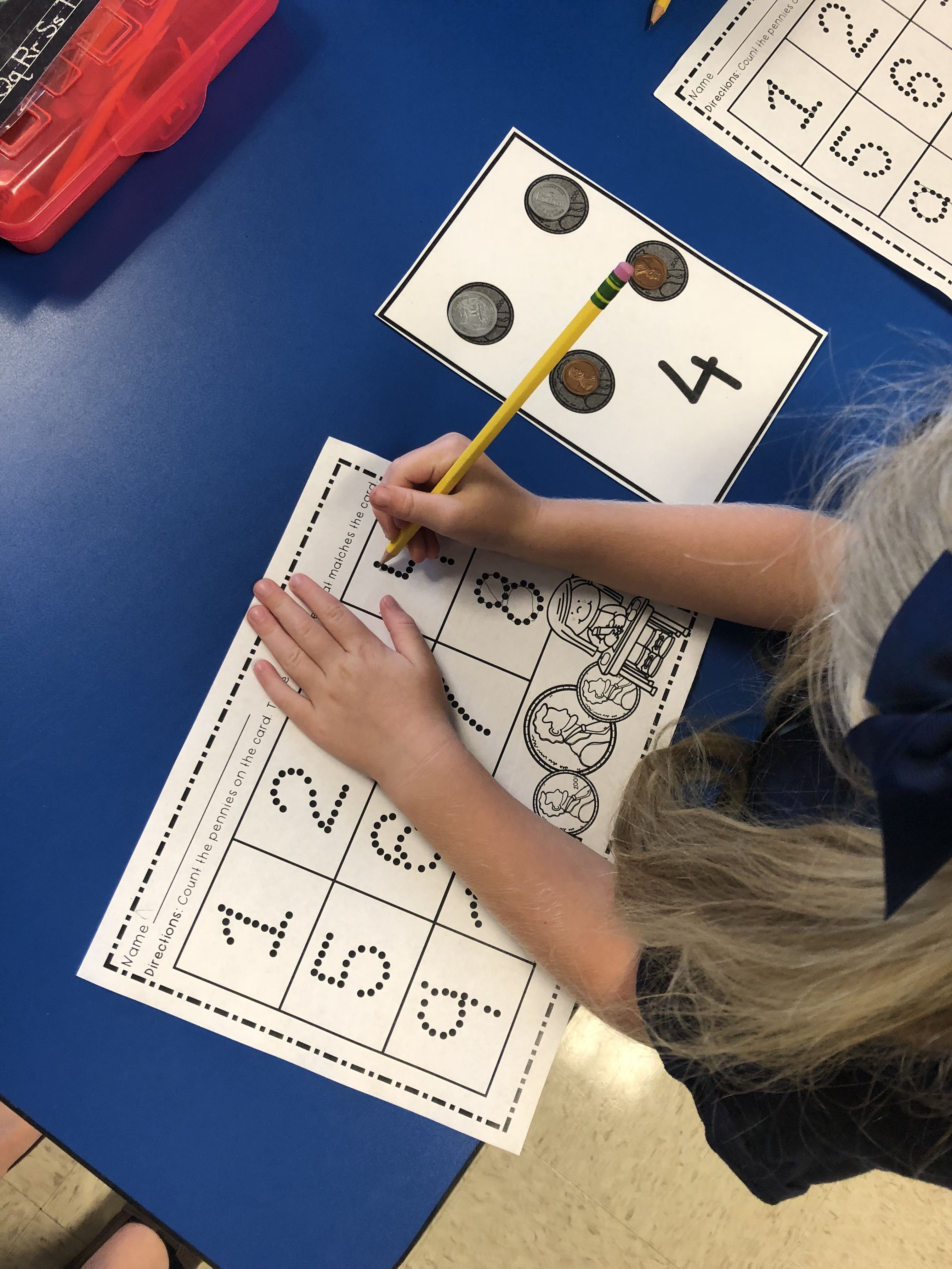 One To One Correspondence Counting With Math Manipulative