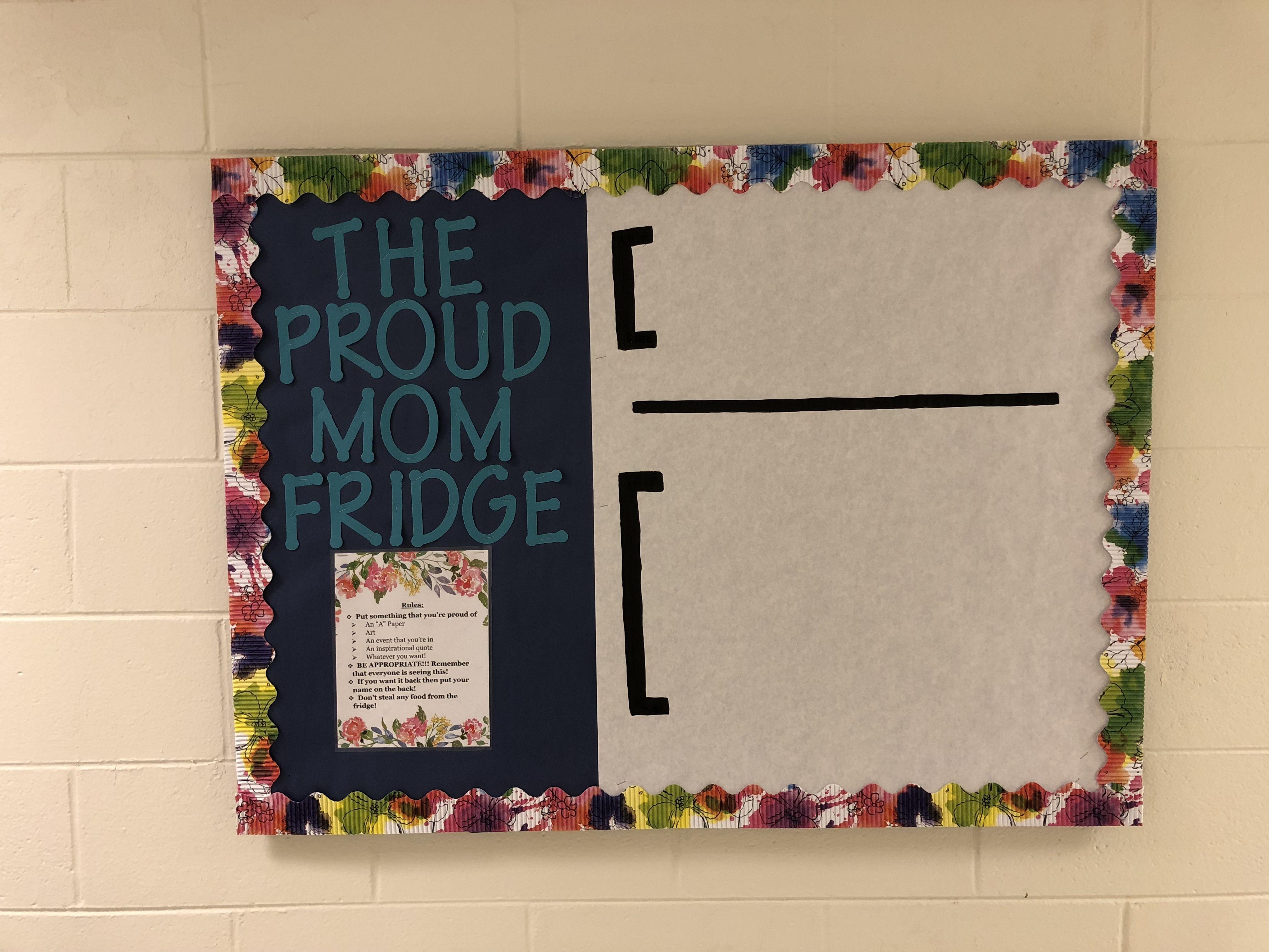 RA Bulletin Board. The Proud Mom Fridge. #rabulletinboards RA Bulletin Board. The Proud Mom Fridge. #rabulletinboards RA Bulletin Board. The Proud Mom Fridge. #rabulletinboards RA Bulletin Board. The Proud Mom Fridge. #octoberbulletinboards