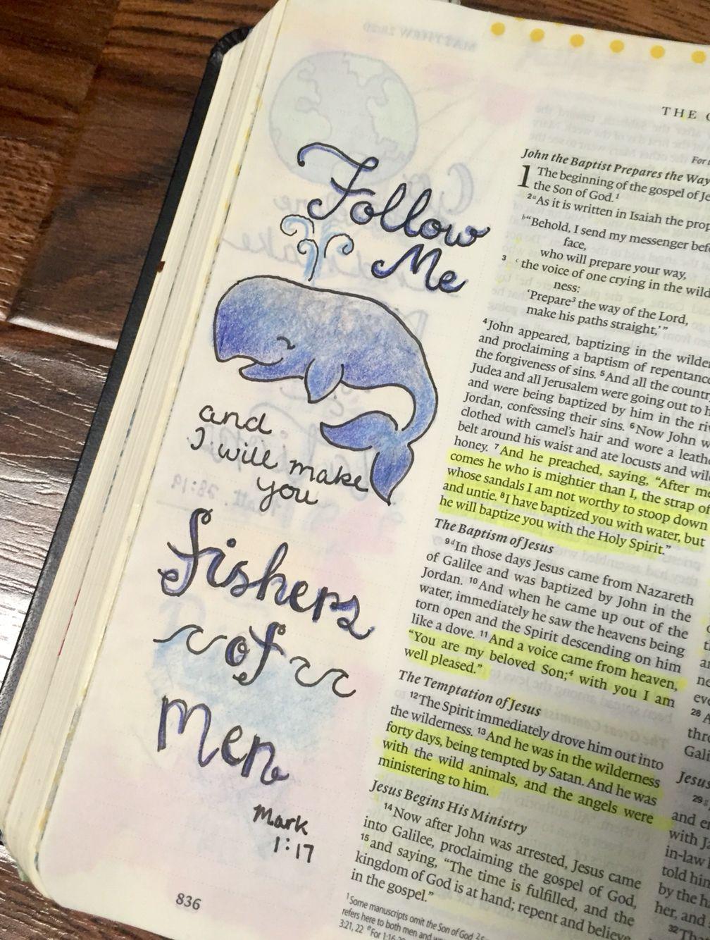 Bible art journaling illustrated faith hand lettering for Hand lettering bible journaling