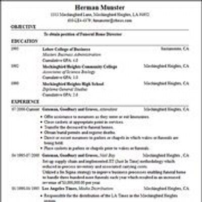 sample summer job resume for college student pdf template builder comparison genius vs labs
