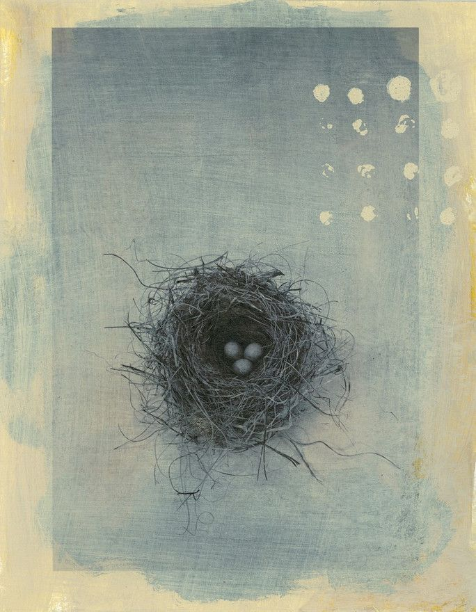Pin By Gail On It Is Blue Gray Nest Art Art Illustration