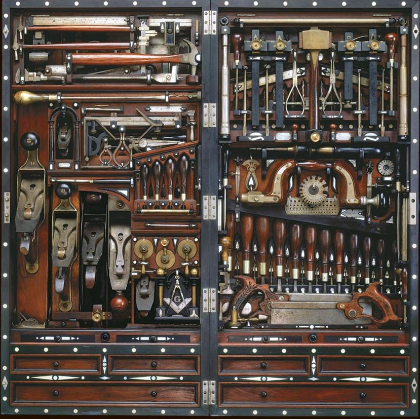 Itu0027s not often that the storage of tools rivals the projects theyu0027re used to  sc 1 st  Pinterest & Itu0027s not often that the storage of tools rivals the projects theyu0027re ...