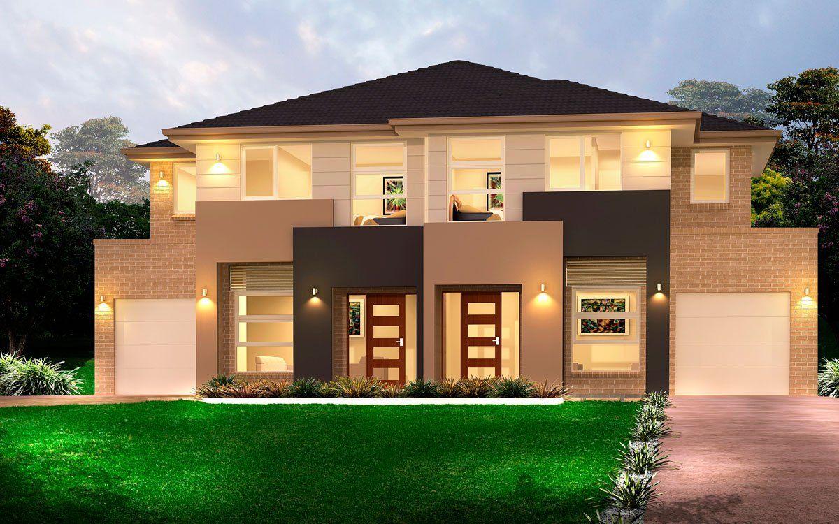 Kensington 46 4 duplex level by kurmond homes new for Duplex home designs sydney