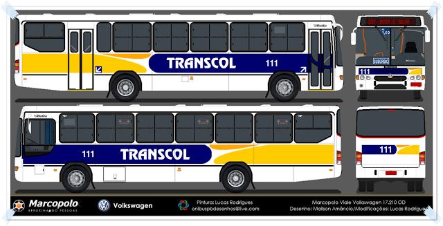 Desenhos Onibusalagoas Transcol 111 Vehicles