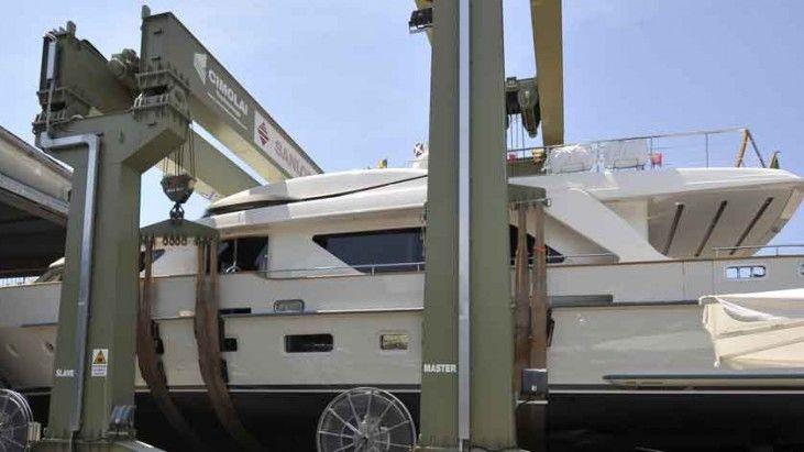 Continua a pieno ritmo la stagione dei vari nei cantieri Sanlorenzo, per la consegna agli armatori delle nuove imbarcazioni prima dell'inizio della stagione estiva. Nell'arco di due settimane, sono state varate ben quattro imbarcazioni di oltre 24 metri di lunghezza: http://www.inbenessere.it/2014/07/75106/