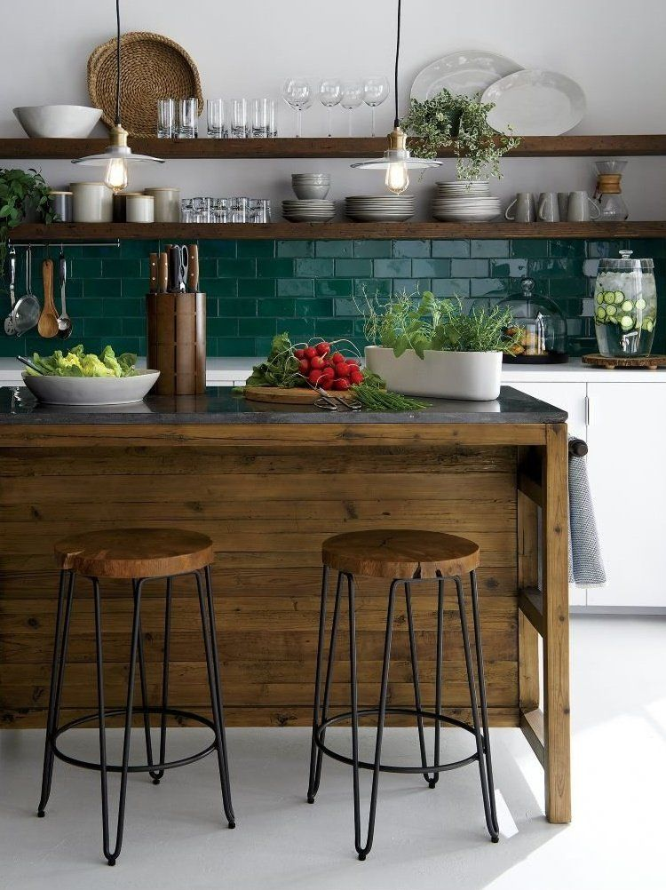 Our Origin Stool Reveals And Preserves The Rings Knots And Live Edge Of Natural Acacia Wood Tha Kitchen Remodel Small Kitchen Layout Galley Kitchen Renovation