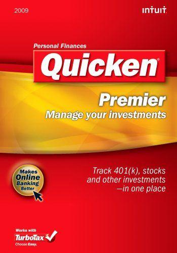 Quicken 2009 Premier [Download] [OLD VERSION] - Find Me The