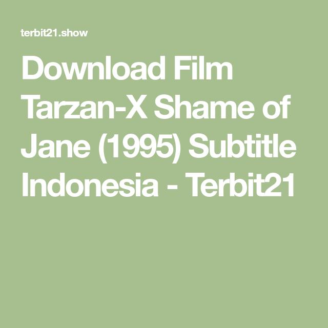 Tarzan x -0 shame of jane1995englishsubtitles dvdrip download