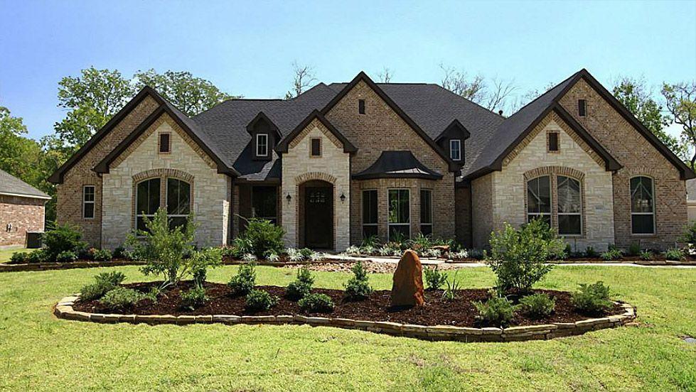 brick and stone combinations | Brick, Stone or Stucco ...