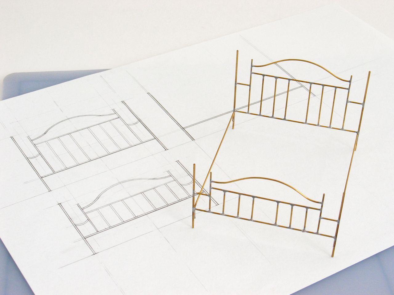 A quick guide to soldering brass miniatures doll houses and