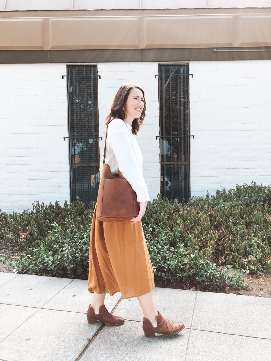 Fall Style How To Layer A Maxi Dress Autumn Fashion Simple Maxi Dress Outfit Inspo Fall [ 1200 x 900 Pixel ]