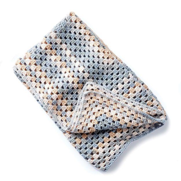 Bernat All For One Crochet Blanket | Crochet Projects | Pinterest