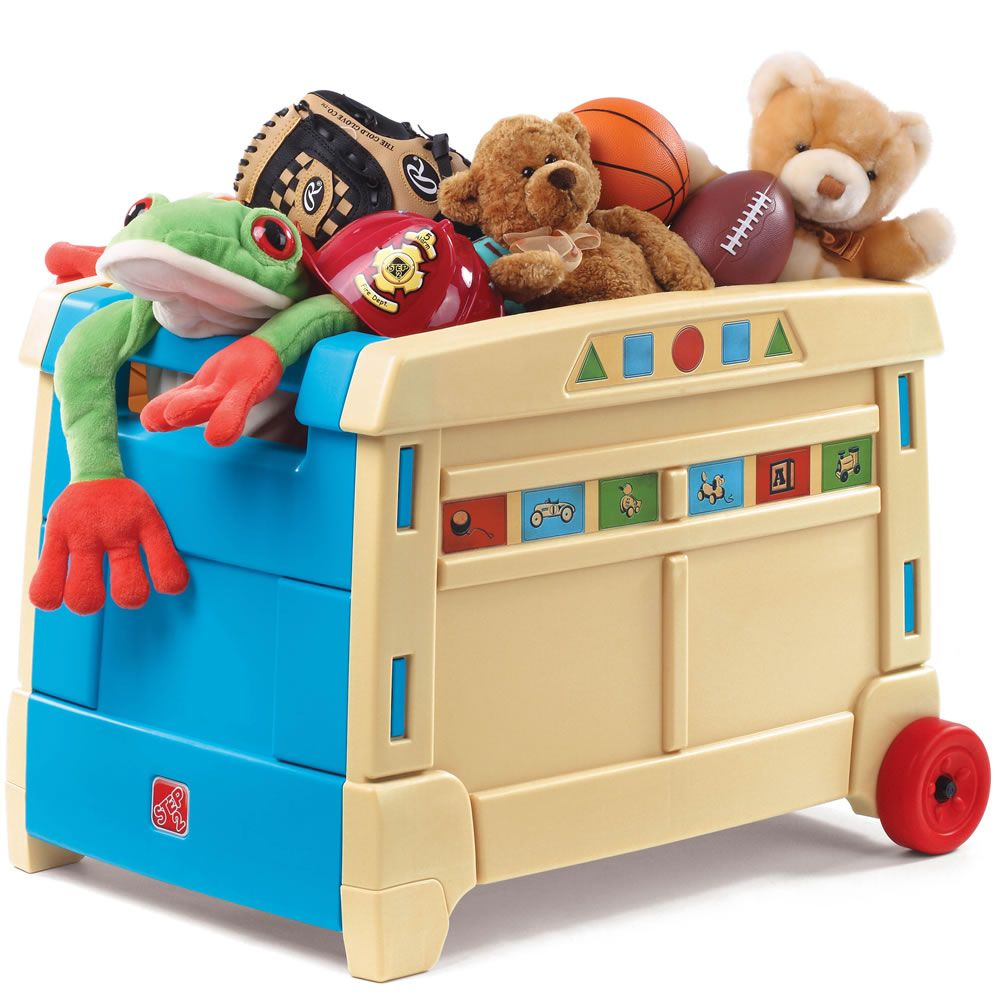 Lift Roll Toy Box Toy Storage Boxes Kids Toy Boxes Kids Storage