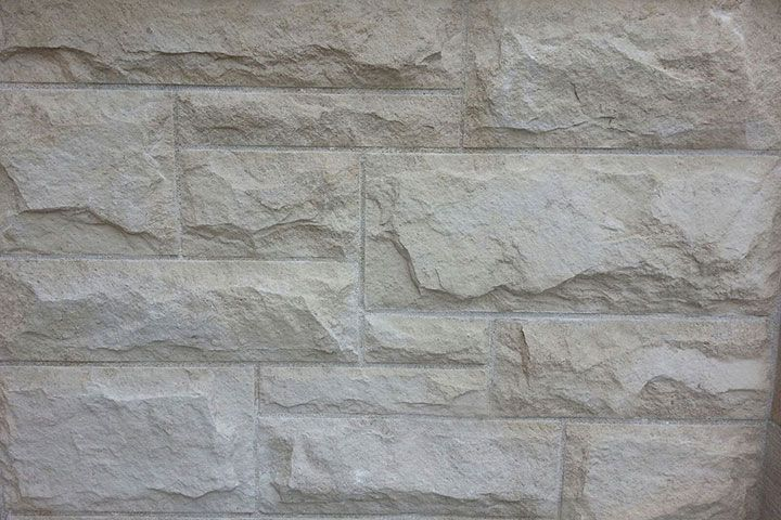 Masonry Veneer Vieiera Limestone Ashlar Pattern At