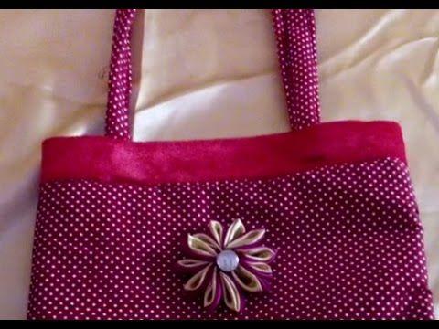 How To Make Fabric Handbag At Home Purse Making