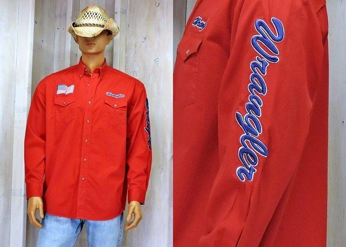 88324bbec00 Vintage 90s Wrangler Rodeo shirt size large tall   cowboy  vintage  s   thriftstorefinds  vintageclothes  sstyle  etsy  vintagelook  forsale  depop   fashion