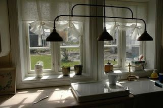 A detail of the kitchen at Vegard and Helene Ylvisaker's house in Norway