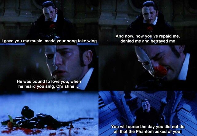 All I Ask Of You Reprise This Scene Would Always Make Me Cry
