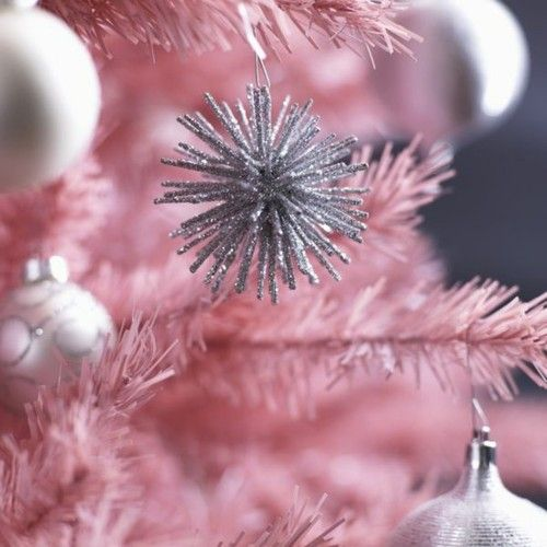 Cute mini sparkle ball! Get Crafty Pinterest Pink trees, Pink