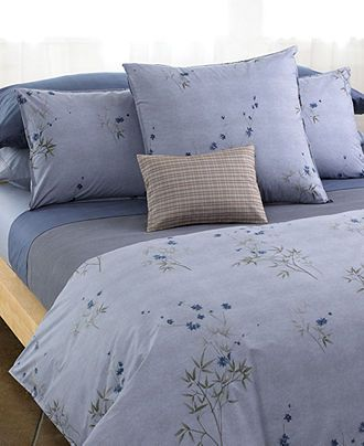 Calvin Klein Home Bedding Bamboo Flowers Collection