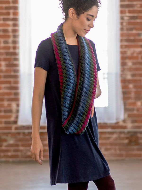 Berroco Sana Cowl Knitting Pattern | Cowl knitting pattern ...